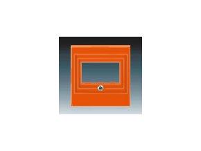 5582 kryt zasuvky reproduktorove prime usb oranzova 5014h a00040 66
