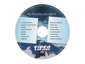 Karaoke DVD PÍSNIČKY PRO DĚTI II