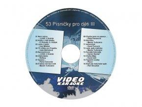 56232 karaoke dvd pisnicky pro deti iii