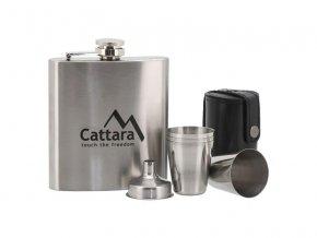 Láhev placatka CATTARA 13625 175ml 1+4