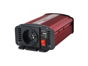 Měnič napětí CARSPA CAR300 24V/230V 300W USB