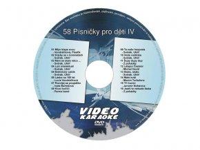 56235 karaoke dvd pisnicky pro deti iv