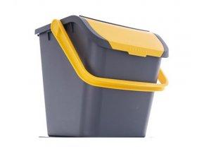 Koš odpadkový ORION Eco 28l Yellow