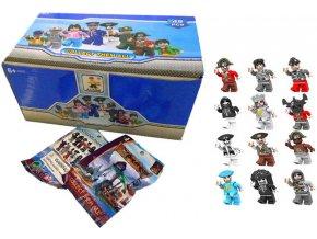 108420 ausini stavebnice figurka pirat 12 druhu plastova postavicka 6 cm