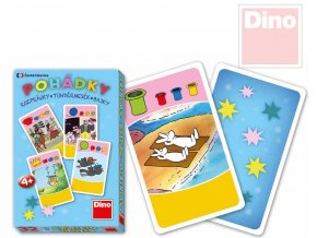 DINO Hra karetní Kvarteto Pohádky Večerníček 32 karet v krabičce