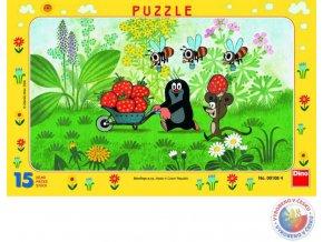 116790 dino puzzle 15 dilku krtek krtecek vylet