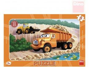 113211 dino puzzle tatra 15 dilku 25x15cm skladacka v ramecku