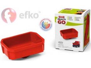 EFKO IGRÁČEK MultiGO Valník červený doplněk v krabičce