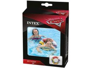 106761 intex kruh nafukovaci auta cars 51cm plavaci kolo do vody 58260