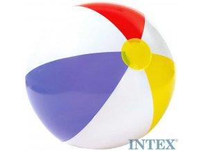 INTEX Míč nafukovací plážový trojbarevný GLOSSY 51cm 59020
