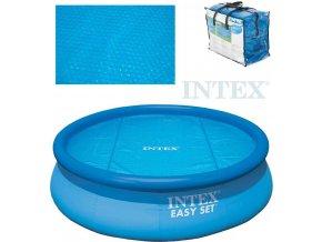 119898 intex plachta solarni bazenova 244cm pro bazeny easy modra 29020