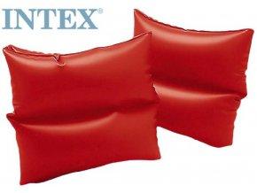 106773 intex rukavky 19 x 19cm nafukovaci 1 par cervene do vody