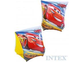 INTEX Rukávky nafukovací Auta (Cars) 23x15cm na plavání do vody 56652