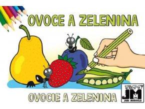 122031 jiri models omalovanky a5 ovoce a zelenina
