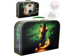 109026 kazeto kufr detsky fotbal velky kufrik pro kluky