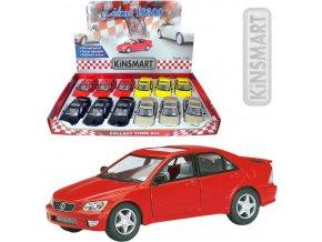 104976 kinsmart auto model 1 36 lexus is300 kov pb 13cm 4 barvy
