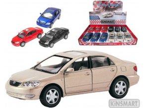103539 kinsmart auto model 1 36 toyota corolla kov pb 13cm 4 barvy