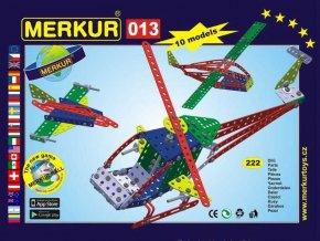 116352 merkur 013 vrtulnik helikoptera kovova stavebnice