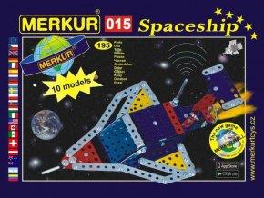 116265 merkur 015 raketoplan kovova stavebnice