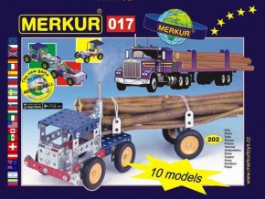 116271 merkur 017 kamion kovova stavebnice