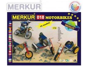 116274 merkur 018 motocykly kovova stavebnice