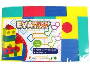115287 puzzle kostky penove barevne soft set 15 ks lehke