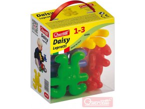 126159 quercetti daisy leprotti baby stavebnice velke dilky 8ks plast