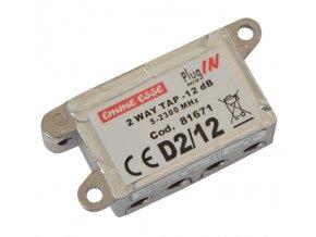 92079 antenni odbocovac dvoj emme esse 81671 12 0db