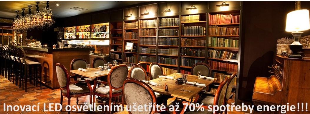 Restaurace-LED osvětlení
