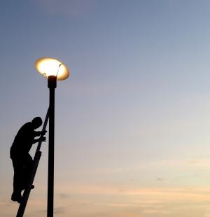 LED pouliční osvětlení