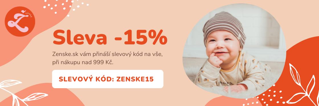Využijte <b>slevu -15%</b> na vše.