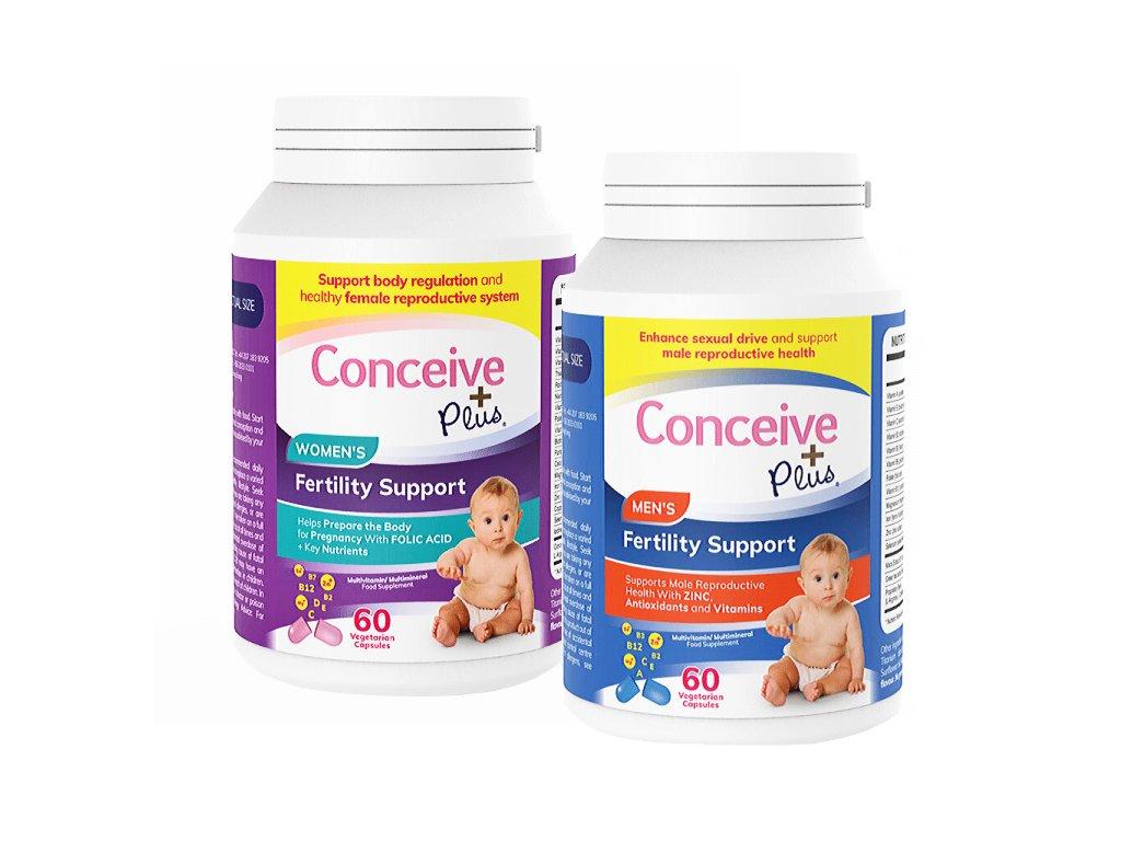 Conceive Plus sada PRO PÁRY - Men 60 kapslí, Women 60 kapslí
