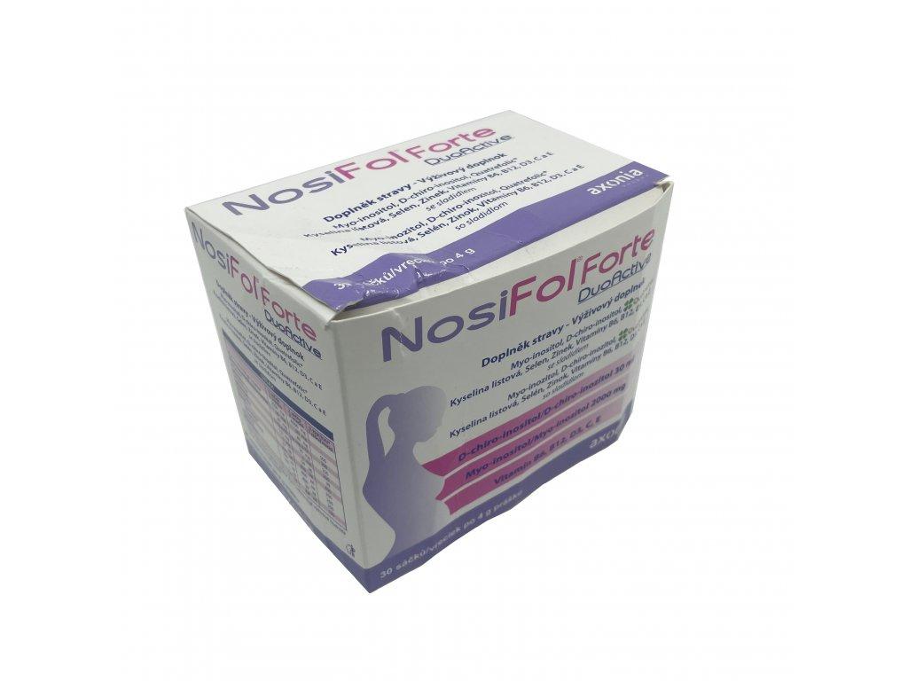 Výprodej 30% poškozený obal - NosiFol Forte DuoActive sáčky 30x4 g
