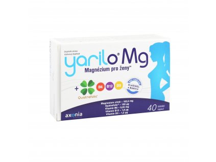 Yarilo Mg - Magnézium pro ženy 40 tobolek