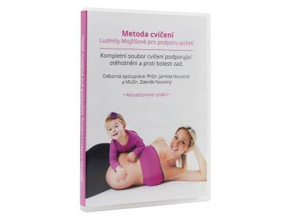 DVD Metoda Ludmily Mojžíšové pro otěhotnění