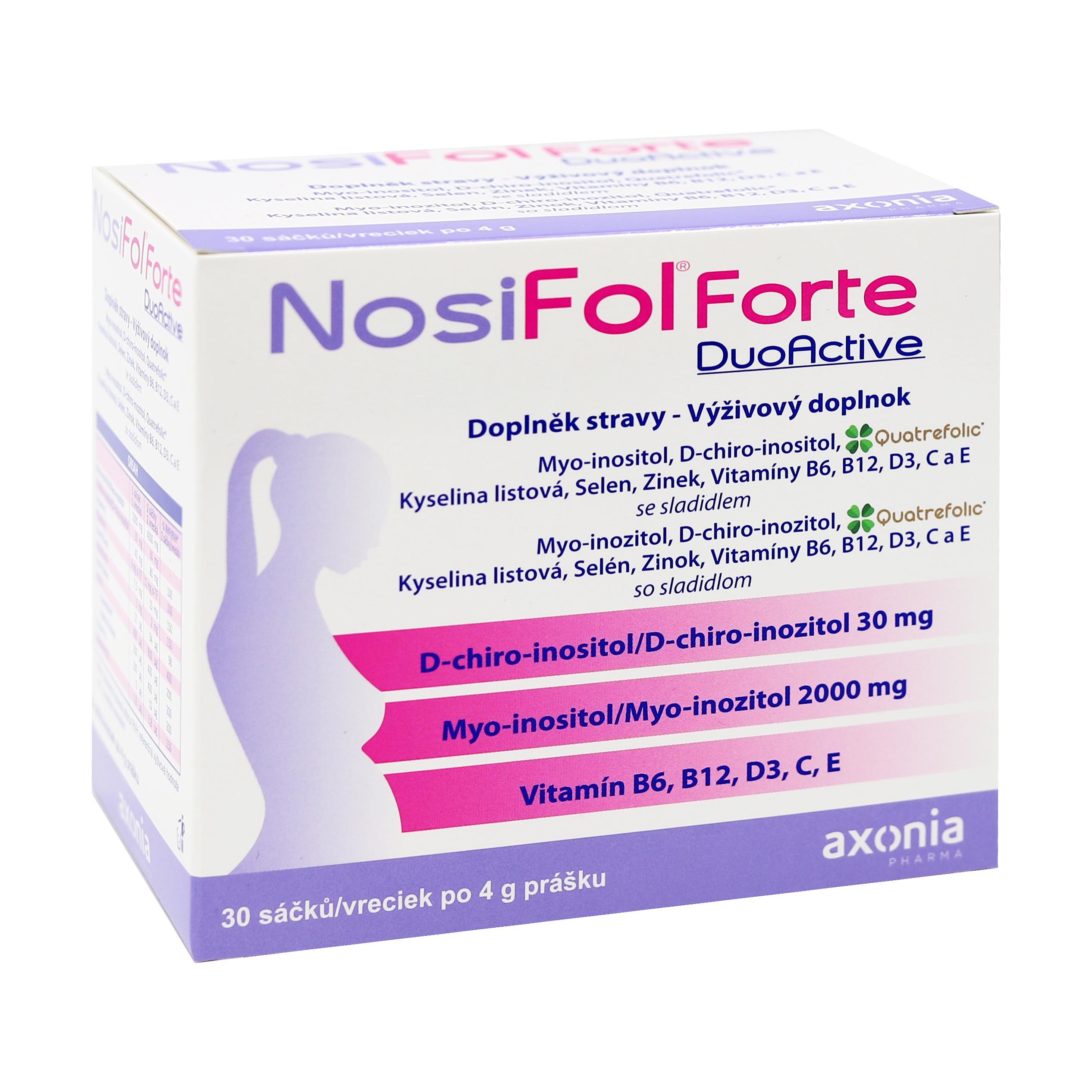 Levně NosiFol Forte DuoActive sáčky 30x4 g