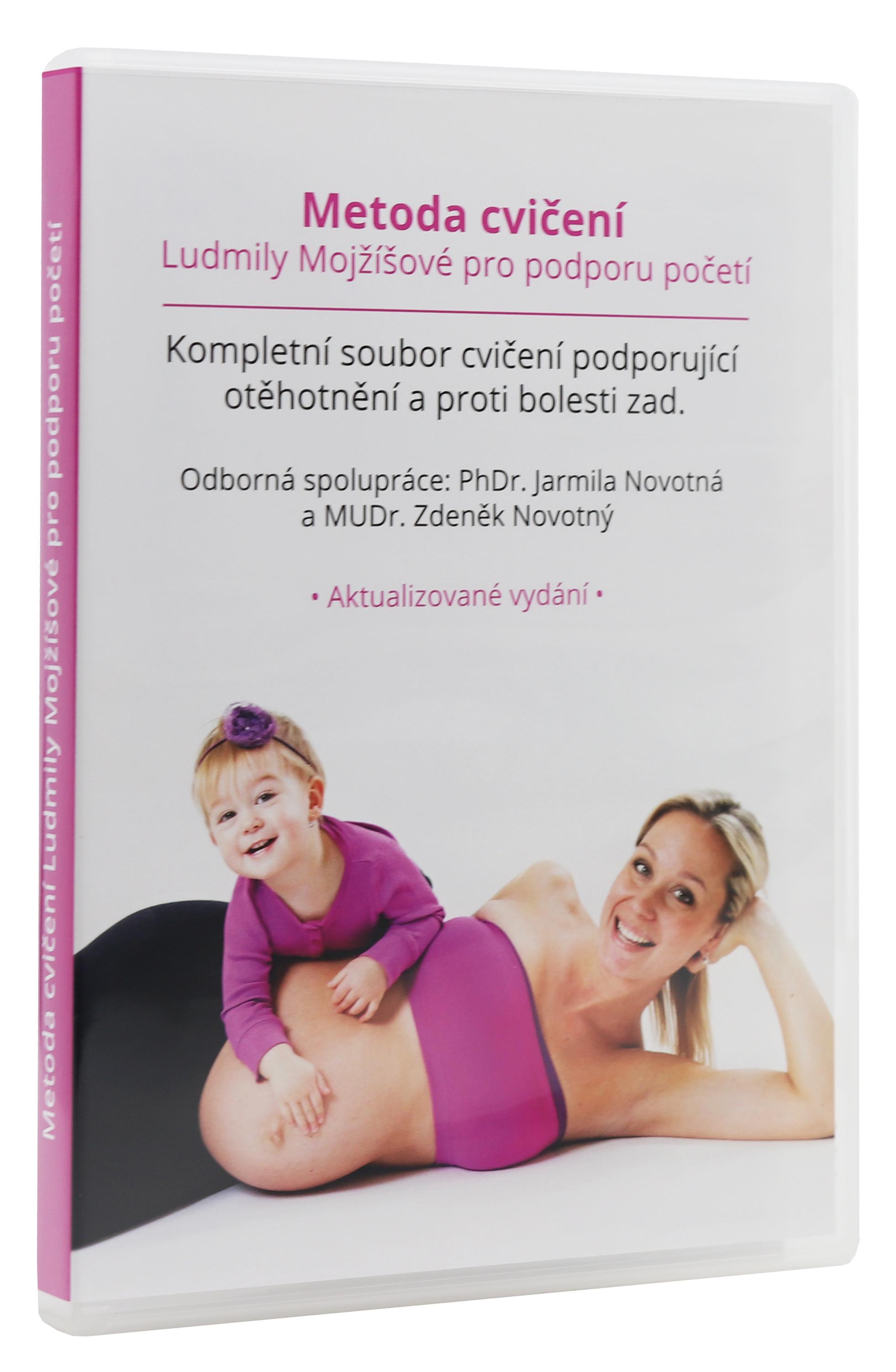 Levně Adiel DVD Metoda Ludmily Mojžíšové pro otěhotnění