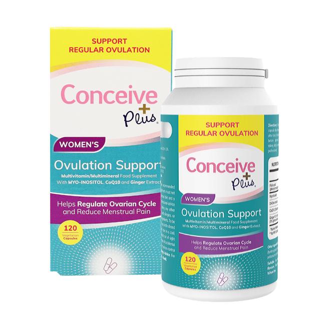Levně Sasmar Conceive Plus Ovulation Support Women´s 120 cps
