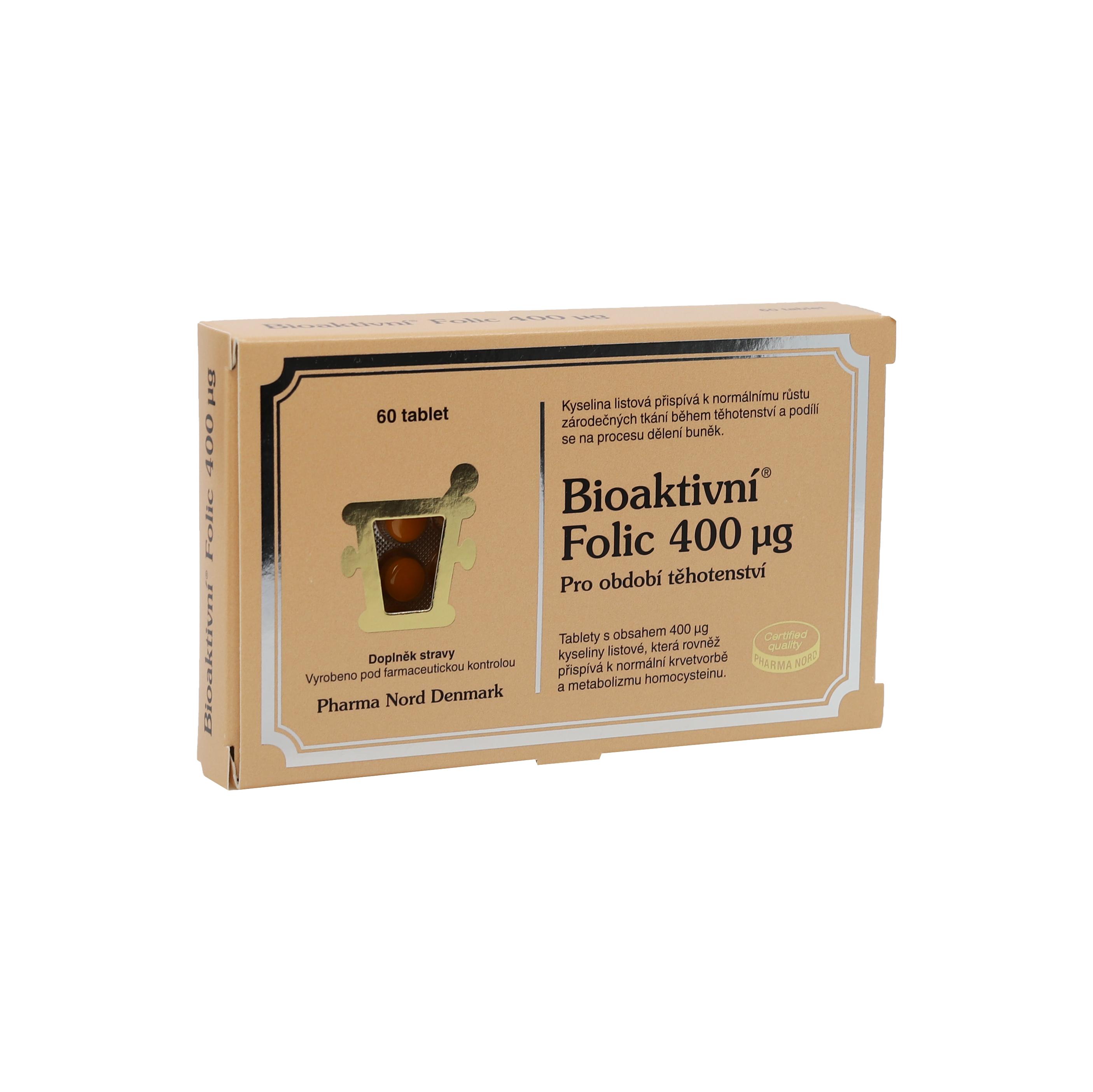 Levně Pharma Nord Bioaktivní Folic - kyselina listová 60 tbl.