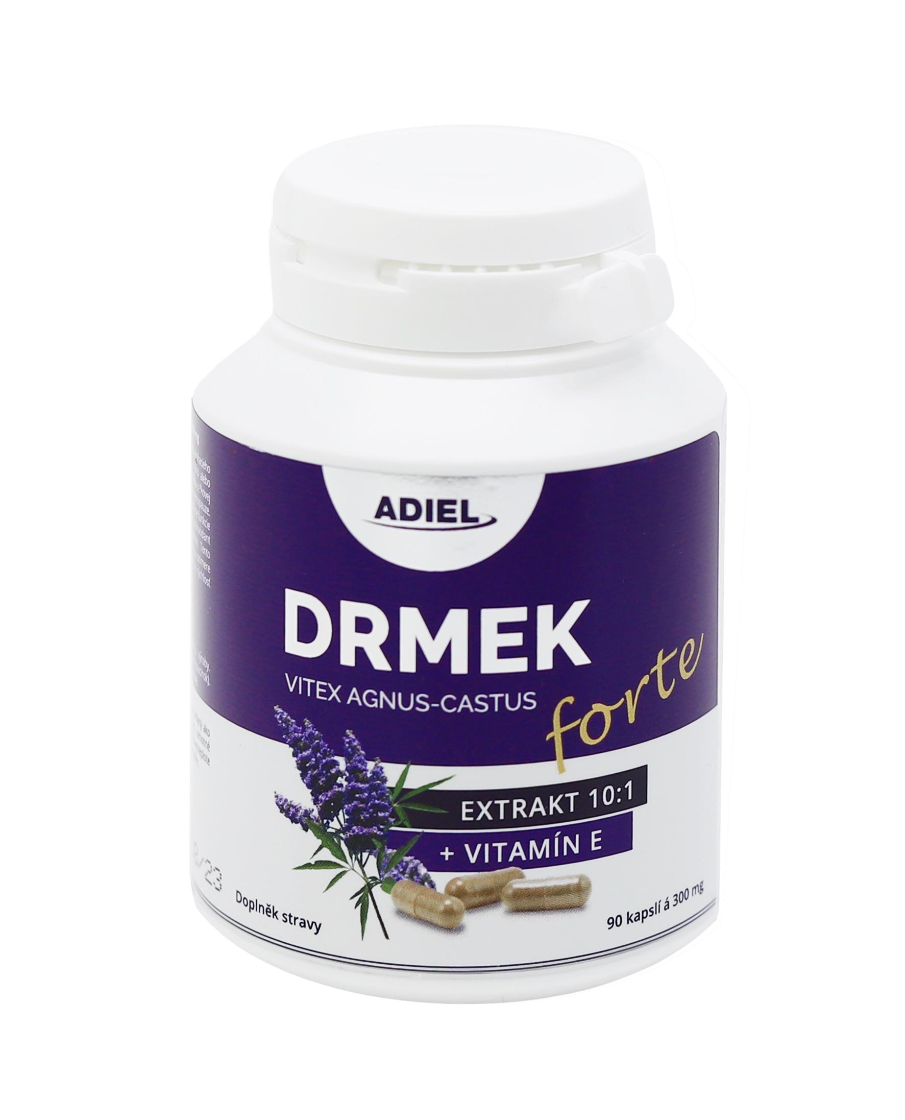 Levně ADIEL Drmek FORTE s vitamínem E 90 kapslí 1 balení: 1x90 kapslí