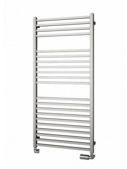 Koupelnový radiátor Quadrat Inox Isan Melody