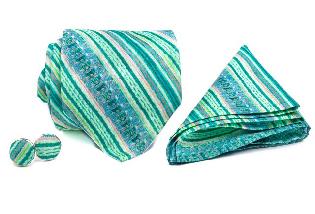0092_set-zelene-a-ruzove-prouzkovane-kravaty-kapesnicku-a-manzetovych-knofliku-kvido-min