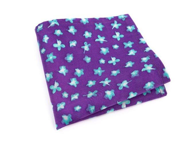 0019 fialovy kapesnicek s modrymi kvety patrick min