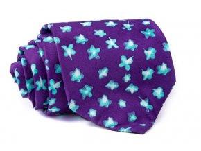 0049 fialova kravata s modrymi kvety patrick min