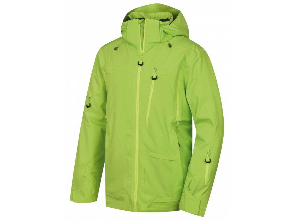 Husky Lyžařská bunda Montry zelená