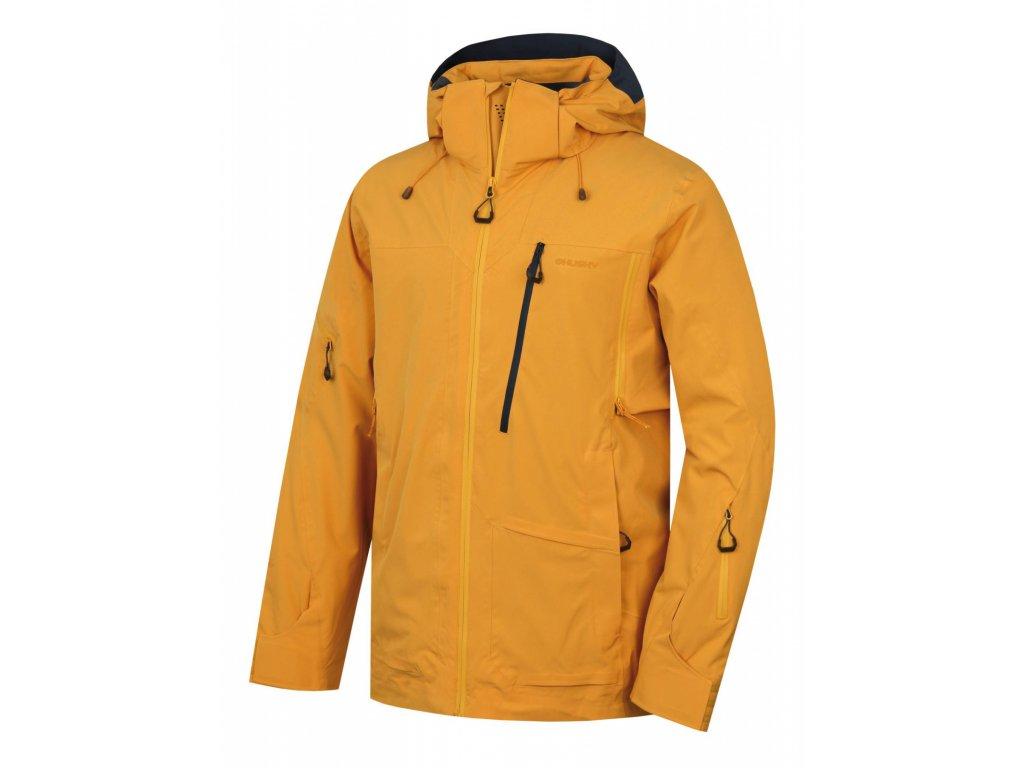 Husky Lyžařská bunda Montry krémově žlutá