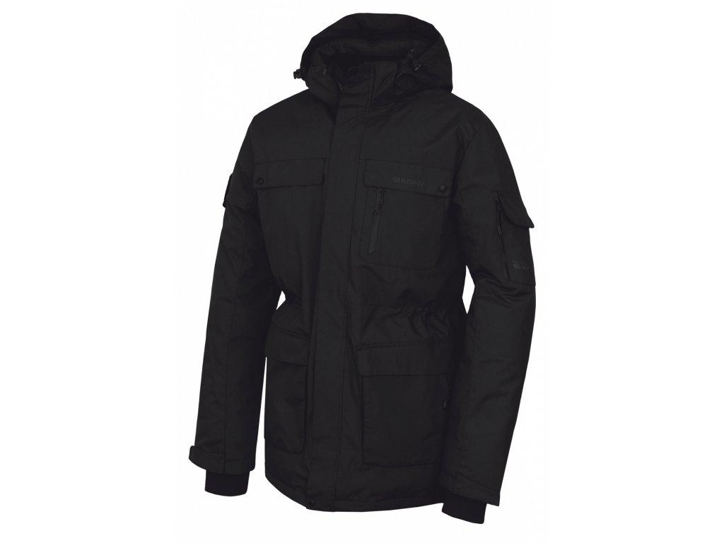 Husky Péřová bunda Dantex černá