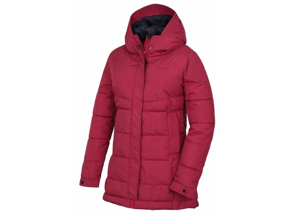 Husky Hardshell plněný kabátek Nilit purpurová