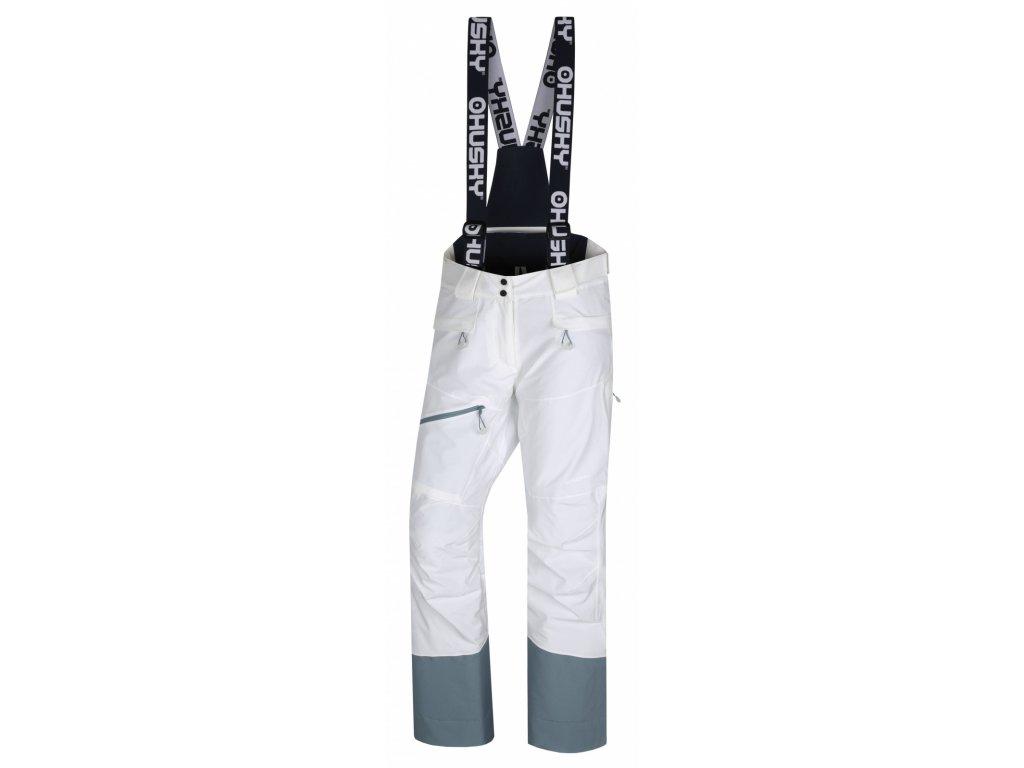 Husky Lyžařské kalhoty Gilep bílá