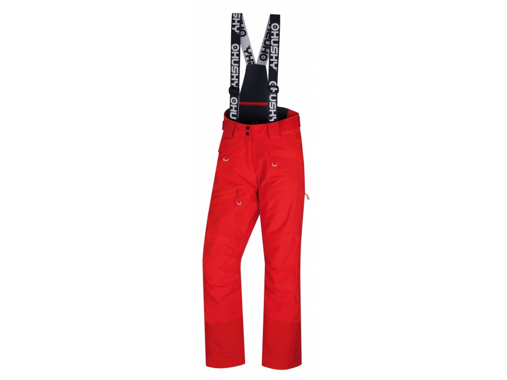 Husky Lyžařské kalhoty Gilep výrazně červená
